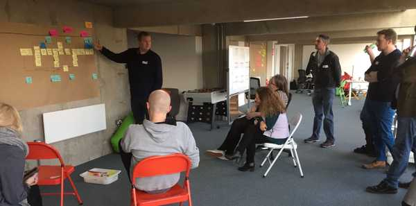 Image showing a collaborative workshop session